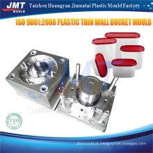 molde de injeção de recipiente de alimento descartável