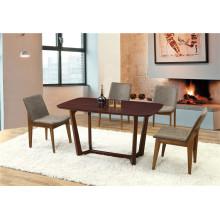 Comedor europeo del estilo del diseño especial que come los muebles de la tabla (FOH-BCA60)