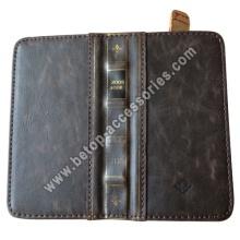 iphone5 retro leather bookbook