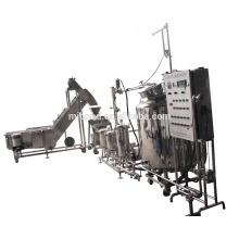 Kundenspezifische industrielle Edelstahl-Fruchtsaft-Ausziehmaschine-Extraktionsmaschine