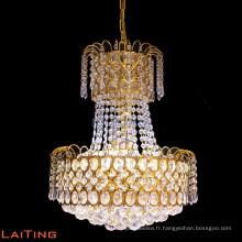 Lustre de luxe cristal K9 lustre en cristal