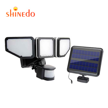 200 LED Solar Garden Light Outdoor Waterproof Solar Powered Lamp PIR Motion Sensor Street Light for Garden Decoration 3 Modes