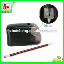 novelty funny pencil sharpener, plastic electric knife pencil sharpener