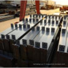 Matériel de panneau de mur de bâtiment de structure métallique de bâtiment de magasin