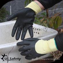 SRSAFETY 13G Устойчивые к действию микроволокнистые рабочие нитриловые рабочие перчатки