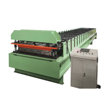 China machinery IBR trapezoidal 840/900mm cold tile press machine roof sheet panel roll forming making machines low price