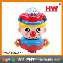 Engraçado plástico Universal Brinquedo musical palhaço com luz