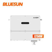 BLUESUNPV easy installation 3phase solar grid tie inverter 100kw 125kw solar power inverter