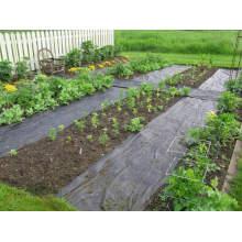 tela de plástico con paisaje agrícola