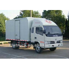 4 тонны Горячие Продажа Dongfeng 4x2 мини Box Van грузовик