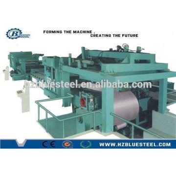 Hot Selling Full Automatic Metal Coil Sheet Slitting Line With Recoiler, Machine à couper la longueur de la tige de la bobine