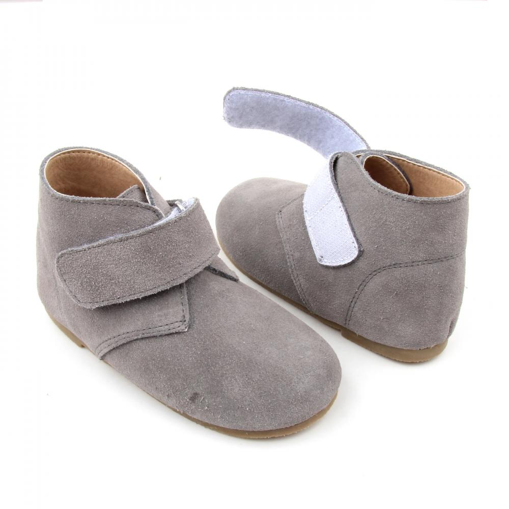 New Arrival Handmade Ankle Baby Leather Boys Boots