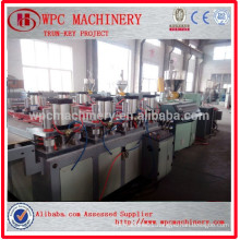 WPC compound material manufacturer WPC PVC Board Manufacturing Machine