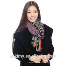 2015 новейших новых дизайн качества бесконечности шарф заказной печати