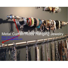 Metal Cortina Rod No Quarto No Apartamento Para Pendurar Jóias