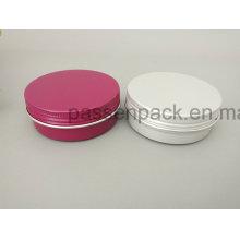 2oz Colored Alumínio Jar para Cosmetic Wax De Ningbo