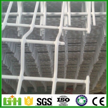 Pagar Wire Mesh Weld dengan Ground Screw Post