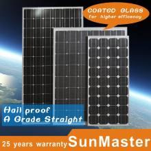 Monokristalline Silizium-Sonnenkollektor-Module 170W