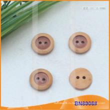 Естественные деревянные кнопки для одежды BN8006