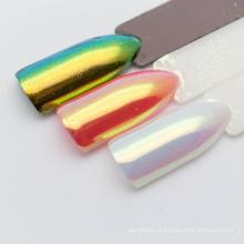 Aurora em pó para nail art