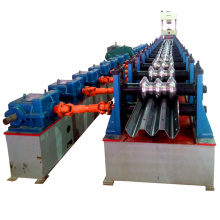 Saftey three wave high railway plate galvanized iron sheet guard rail fence barrier highway guardrail rolll forming machine