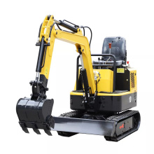 Cheap Price Chinese Mini Excavator Small Digger Crawler Excavator 1.2ton For Sale