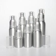 Garrafa De Alumínio De Alumínio De Alumínio De Alta Qualidade 250ml, Garrafa De Bomba De Alumínio Para Embalagem Cosmética