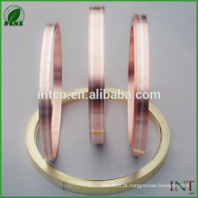 tiras de metal de bronze cobre prata inlay