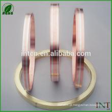 fita bimetálica de cobre prata