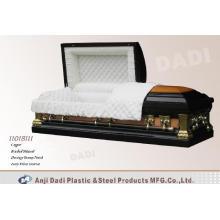 Estilo americano de cobre caixão (11018111)