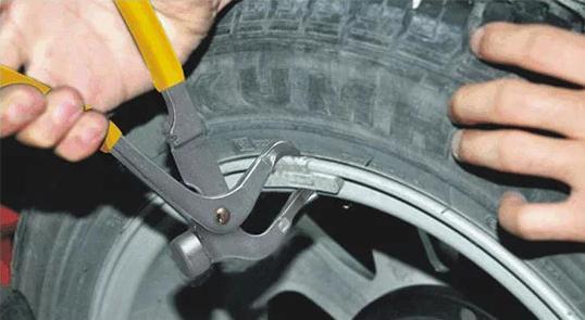 use wheel balance weight