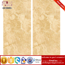China building materials thin tiles with 3d ink jet 600x1200 glazed outdoor wall porcelain tiles