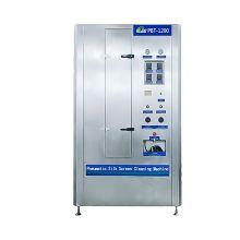 Machine pneumatique automatique de nettoyeur de pochoirs à sérigraphie