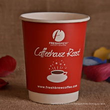 8 унций, 10 унций, 14 унций, 16 унций Кофейная чашка с двойной стеной с крышкой