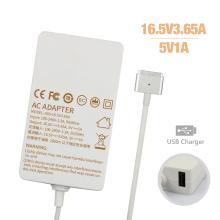 Slim USB 16.5V3.65A Netzteil für MacBook Ladegerät 60W