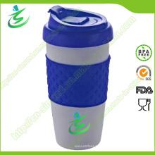 16 Unze PP Material Kaffeetasse mit kundengebundenem Logo