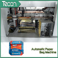Machine de fabrication de sacs en papier haute vitesse avec impression de 2 couleurs