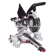 """Twin Laser 210mm 1300W Corte de Aluminio Electric 8-1 / 4 """"Slide Compuesto Mitre Saw"""