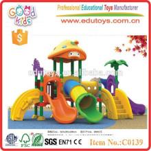 Outdoor Children Playground Kids Plastic Slides