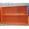 La fábrica de Anping suministró la cerca portátil temporal revestida del PVC de calidad superior, cercado del hierro de Canadá de 6ft para la construcción