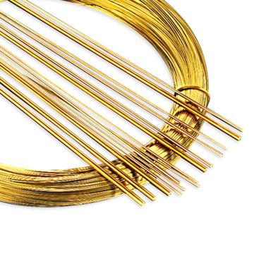 Iron Brass Welding Rod Golden Color Welding Solder Wires
