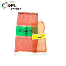 Red PP Leno Mesh Bag for Vegetables Fruit onion potato pp leno drawing mesh net bag