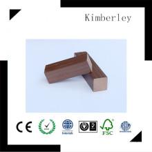 40 * 40 Eco-Friendly et 100% recyclé WPC Keel utilisé dans WPC Composite Decking, WPC Decking Accories, fournisseur chinois Vente Hot Joist
