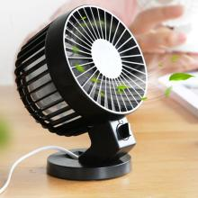 5 inch hoofd roterende mini USB Desk Fan