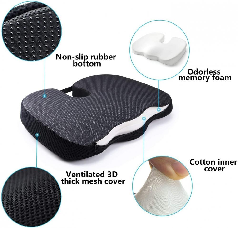 Gel And Foam Seat Cushion