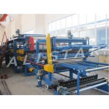 EPS & mineral wool z Lock sandwich panel production line for sale