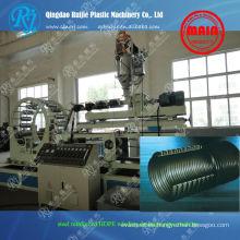 Bobina de polietileno de alta densidad reforzado máquina de tubos de drenaje