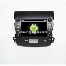 Quad-Core! Auto-DVD mit Spiegellink / DVR / TPMS / OBD2 für 7-Zoll-Touchscreen-Quad-Core 4.4 Android-System Mitsubishi Outlander