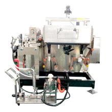 Small Roll to Roll Slot-Die Coating Machine with Slurry Feeder for battery lab machine