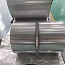 Papel de alumínio industrial rolante jumbo roll